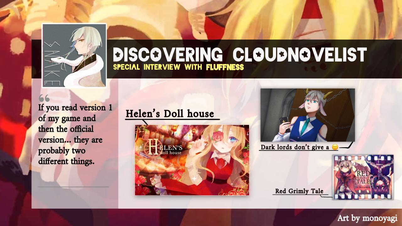 Discovering CloudNovelist: Fluffness